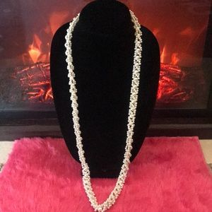 """Jewelry - 36"""" Vtg Beaded Necklace"""